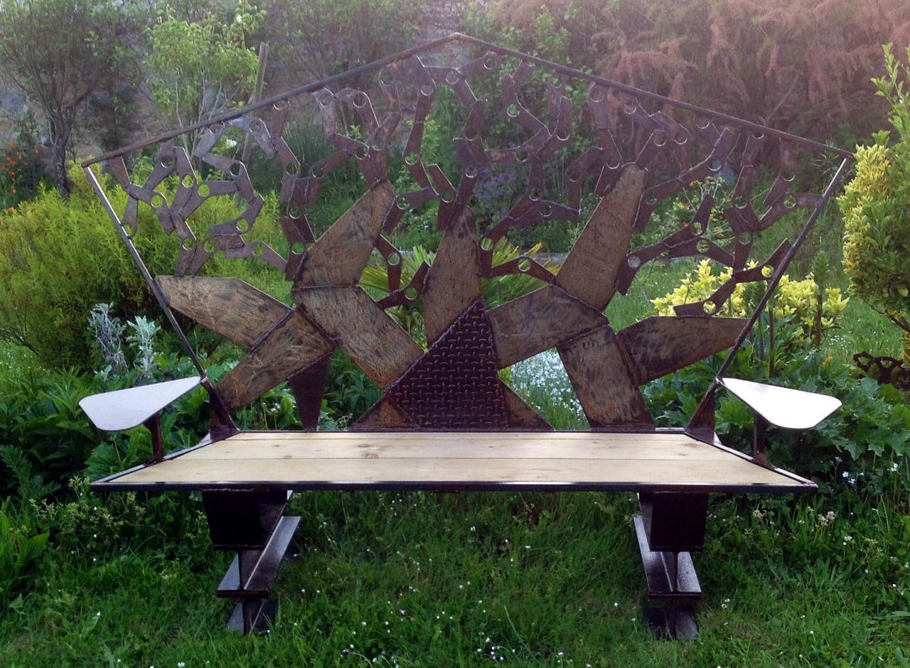 banc en arbre